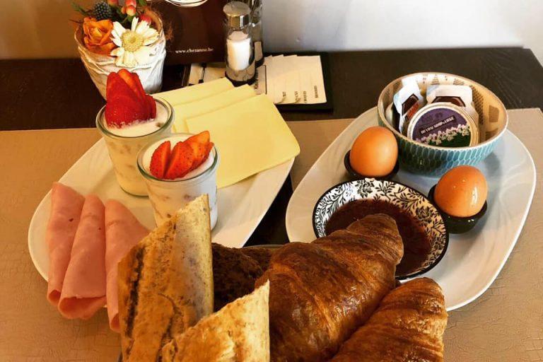 chezanne ontbijt